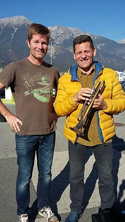 Franz Posch Mit Einer Von CoolTech Tieftemperatur Behandelten Trompete