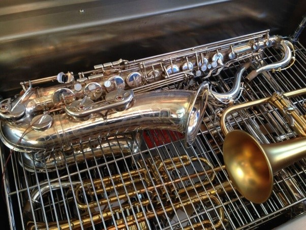 Tieftemperaturbehandlung Musikinstrumente